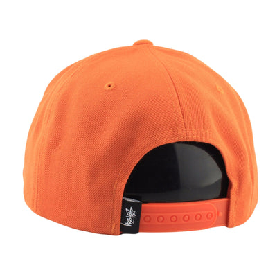 Stussy Stussy Stock HO16 Orange/Orange Snapback