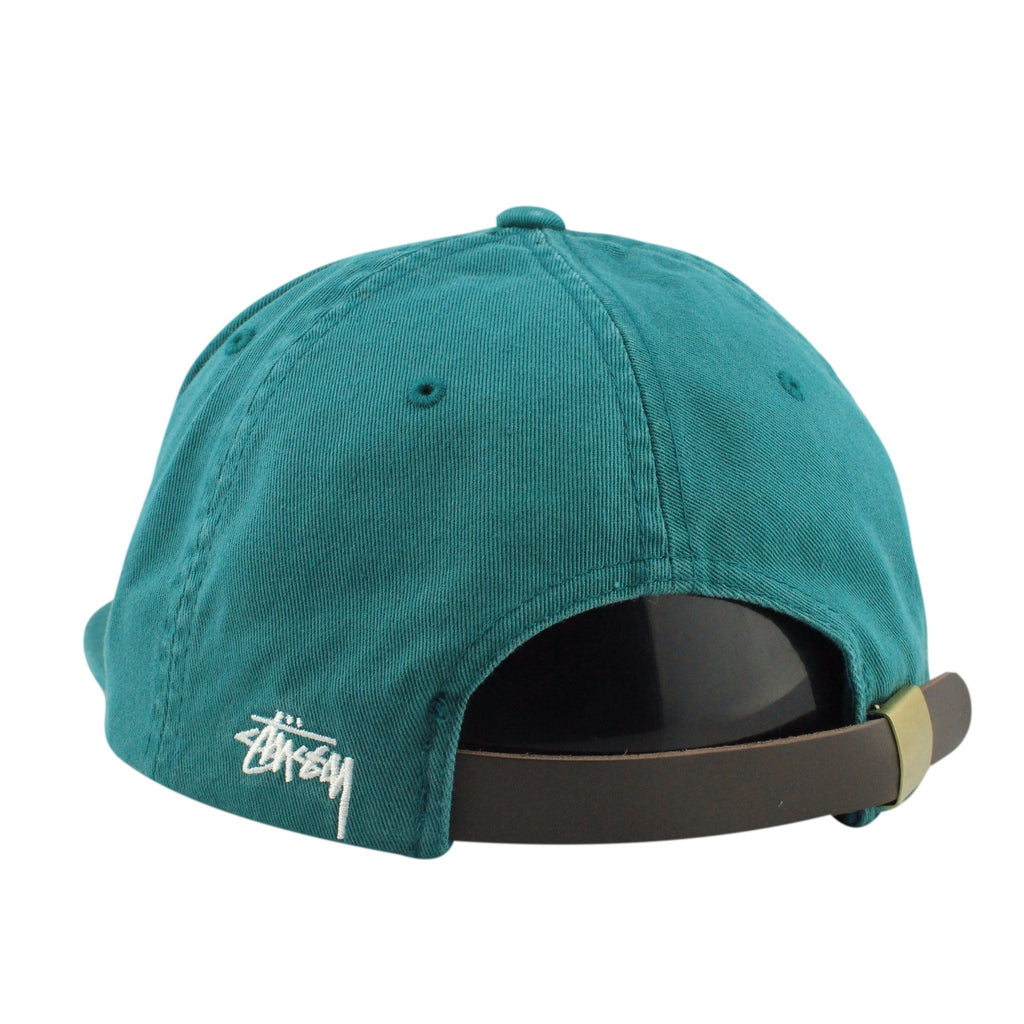 Stussy, Stussy SS Drop Green/Green Slouch Strapback - Bespoke Cut and Sew
