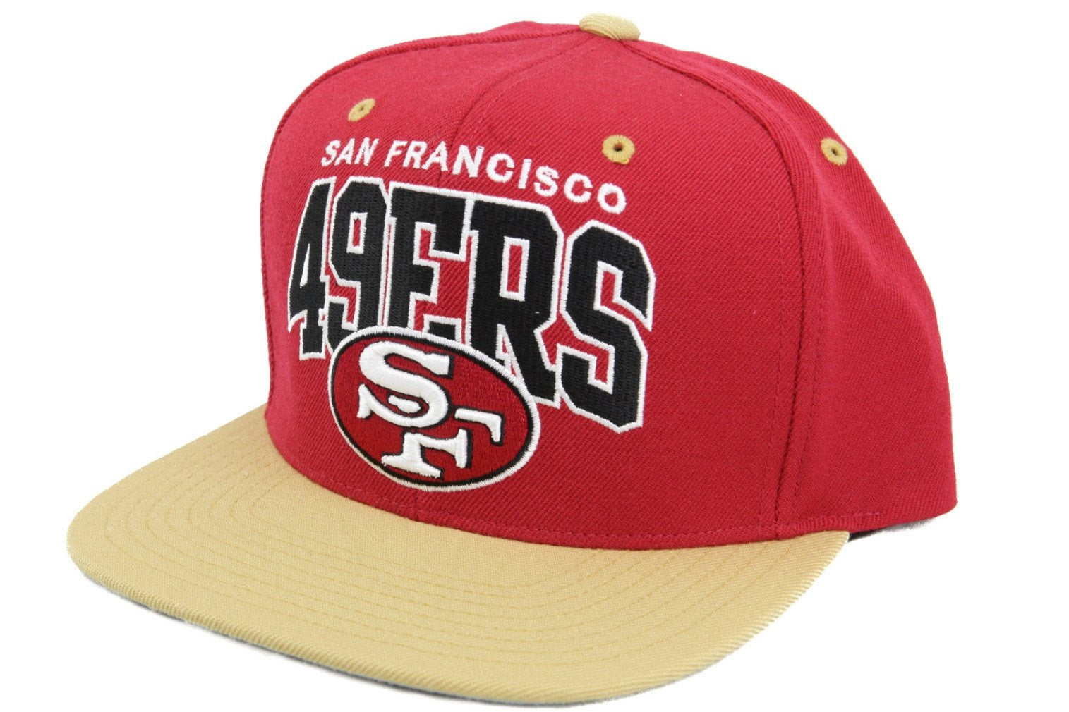 australia mitchell and ness san francisco 49ers arch red yellow snapback  dcb62 7a63a f2a2fc47d331