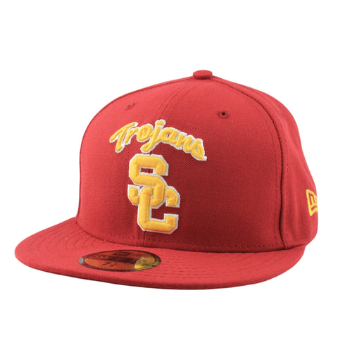 USC Trojans AC Script Red/Red Fitted - Bespoke Cut and Sew - 1