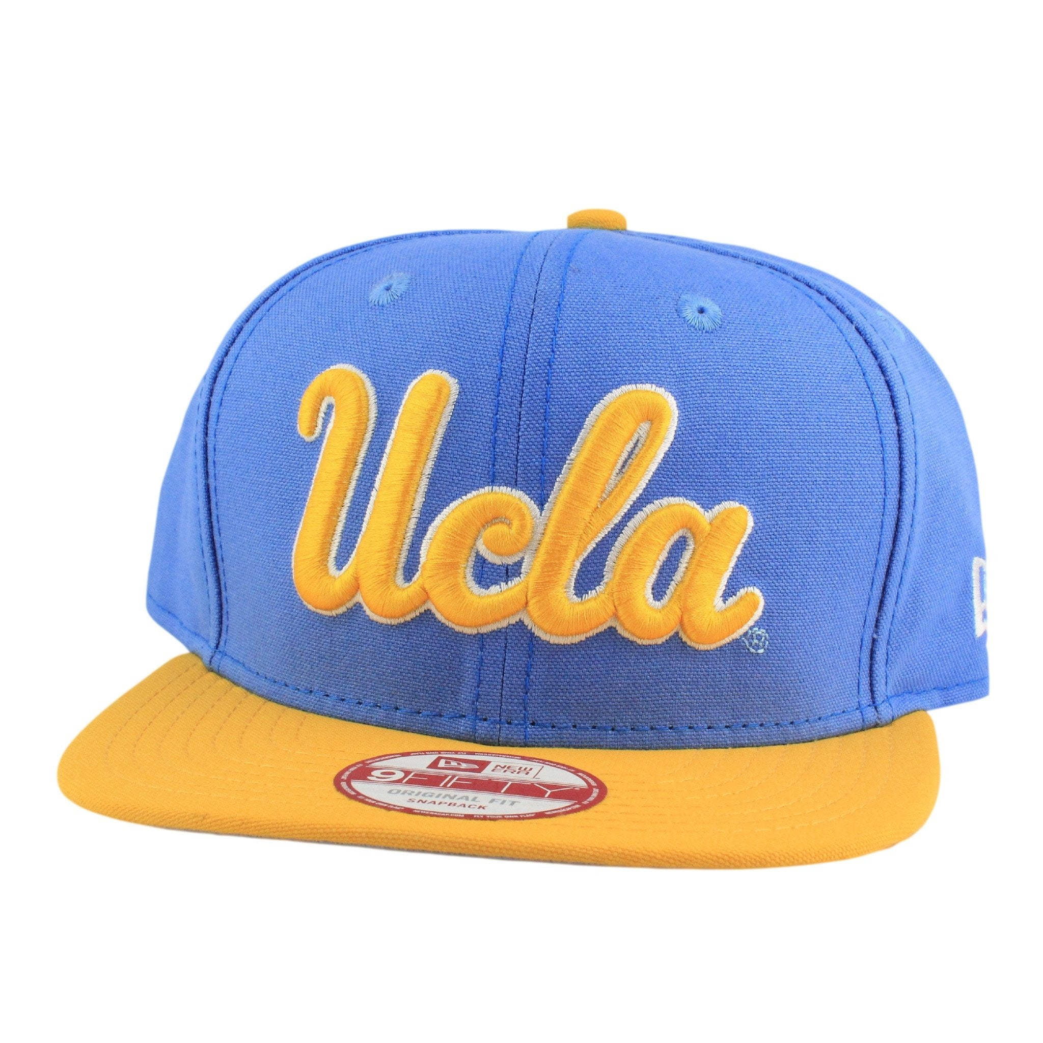 6f42dcf6 UCLA Bruins Shore Snapper Blue/Yellow Snapback | New Era | Bespoke ...
