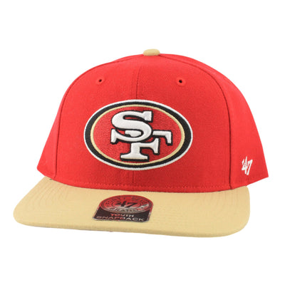 '47 San Francisco 49ers Lil Shot 2 Tone Red/Gold Snapback