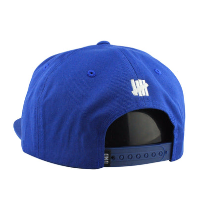 Undefeated Undefeated Undefuckingfeated Blue/Blue Snapback