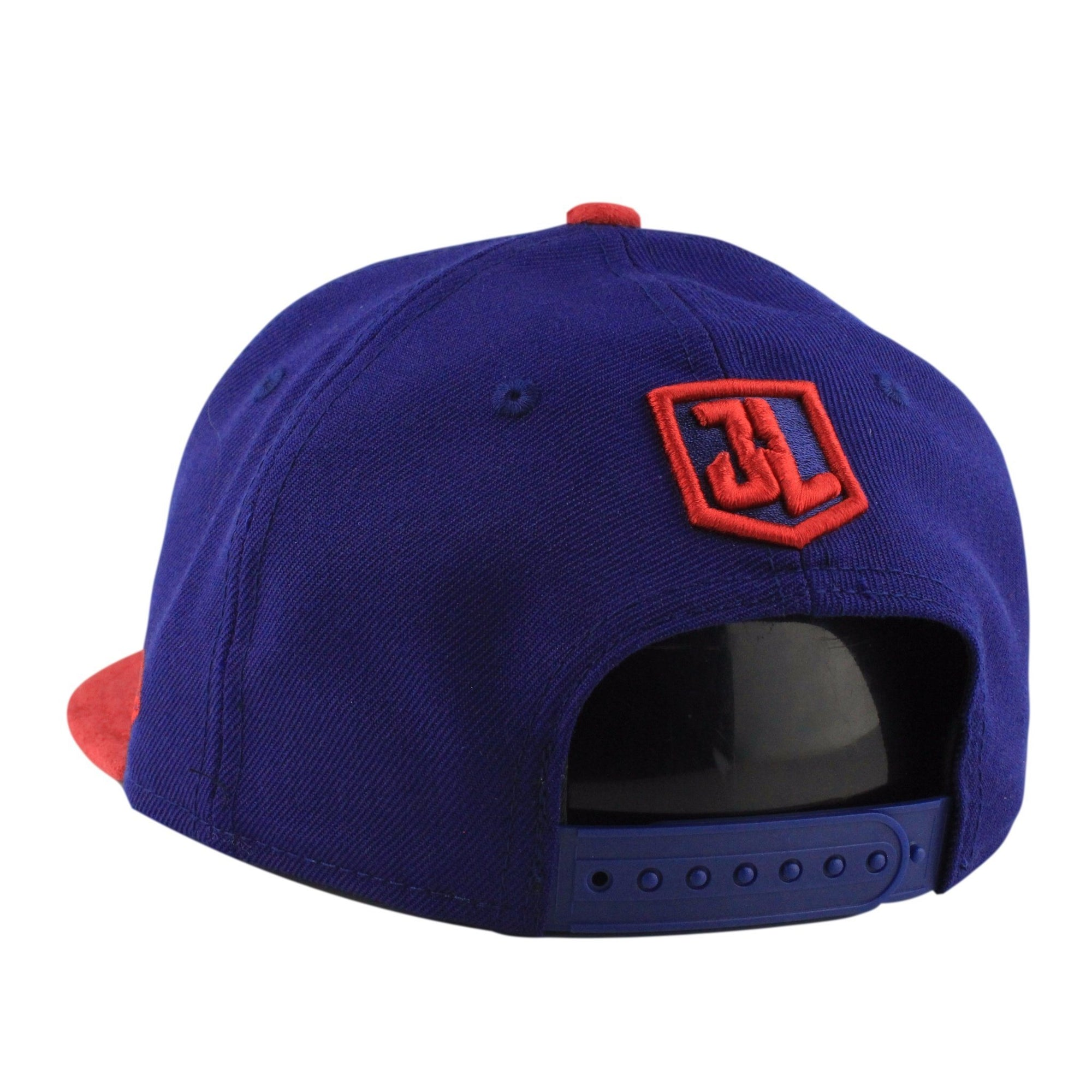 New Era Superman Justice League Blue Red Suede Snapback 0bbe8b4c945