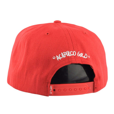 Acapulco Gold Acapulco Gold Above The Law Red/Red Snapback