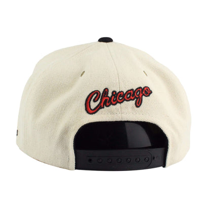 Adidas Chicago Bulls Originals Cream/Black Snapback