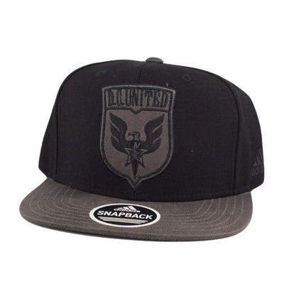 Adidas D.C. United Finished Goods Black/Gray Snapback