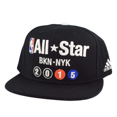 Adidas NBA All Star Finished Good Black/Black Snapback