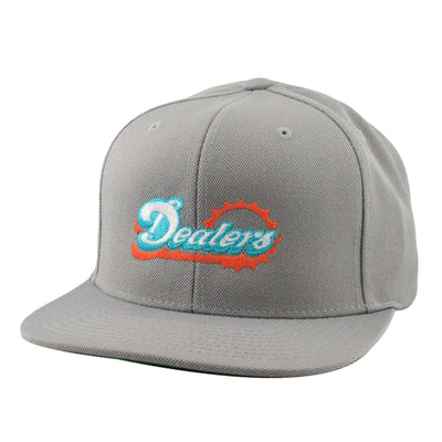 Alias Alias Dealers Gray/Gray Snapback