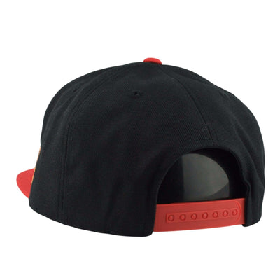 American Needle Chicago Blackhawks Silver Fox Red/Black Snapback