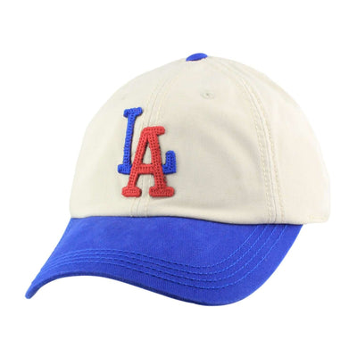 American Needle Los Angeles Angels New Timer Tan/Blue Slouch Snapback