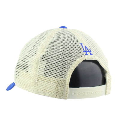 American Needle Los Angeles Dodgers Leon Blue/White/Blue Slouch Trucker Snapback