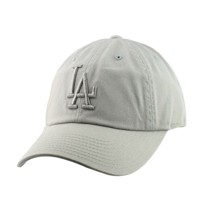 American Needle Los Angeles Dodgers Tonal Ballpark Gray/Gray Slouch Strapback