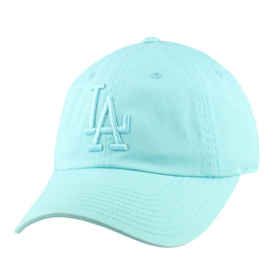 American Needle Los Angeles Dodgers Tonal Ballpark Teal/Teal Slouch Strapback