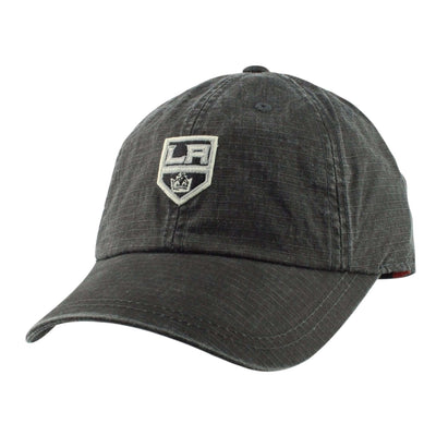 American Needle Los Angeles Kings Conway Black/Black Slouch Strapback