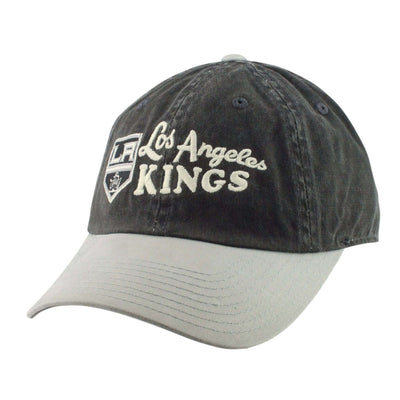 American Needle Los Angeles Kings Dyer Black/Gray Slouch Strapback