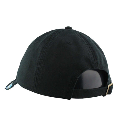 American Needle Los Angeles Reveal Black/Assorted Slouch Strapback