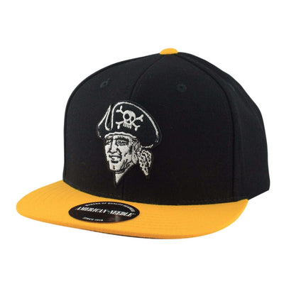 American Needle Pittsburgh Pirates Big Show Black/Yellow Snapback