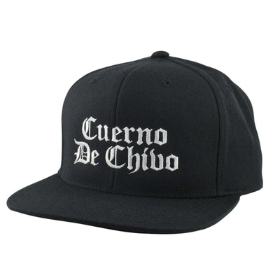 Anything Goes Anything Goes Cuerno De Chivo Black/Black Snapback