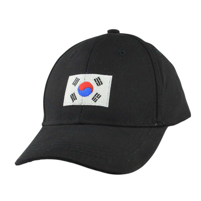 Anything Goes Anything Goes Korean Flag Black/Black Slouch Strapback