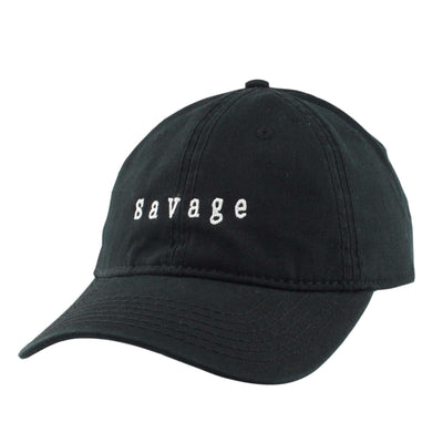 Anything Goes Anything Goes Savage Black/Black Slouch Strapback