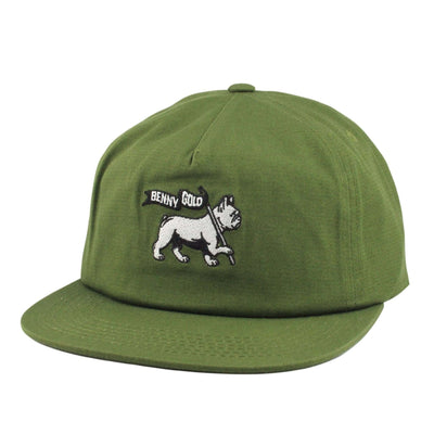 Benny Gold Benny Gold Levi Of Judah Green/Green Unstructured Snapback