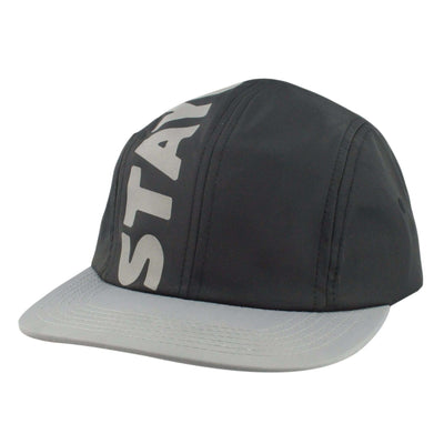 Benny Gold Benny Gold Stay Gold Nylon Black/Gray Snapback