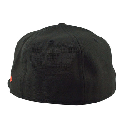 Bespoke Cut and Sew BSPK B Orange Black/Black Fitted