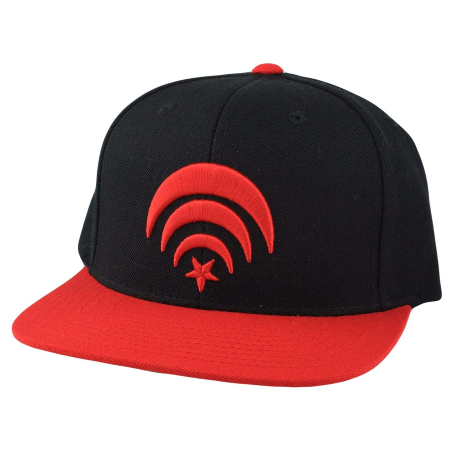 Black Scale Black Scale Connect Black Red Snapback 4b562c90907a
