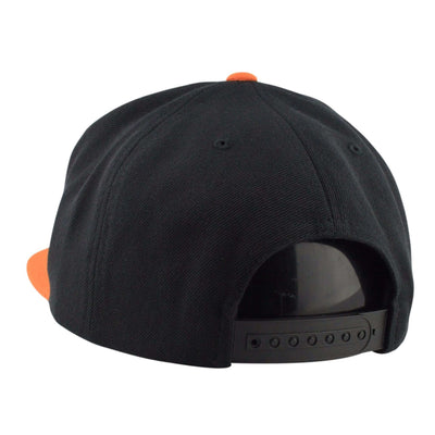 Brixton Brixton Oath III Black/Orange Snapback