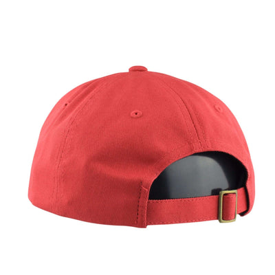 Brixton Brixton Wheeler Red/Red Slouch Strapback