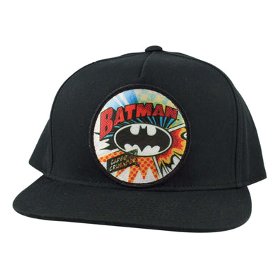 Comic Co. Comic Co. Batman Comic Circle Patch Black/Black Snapback