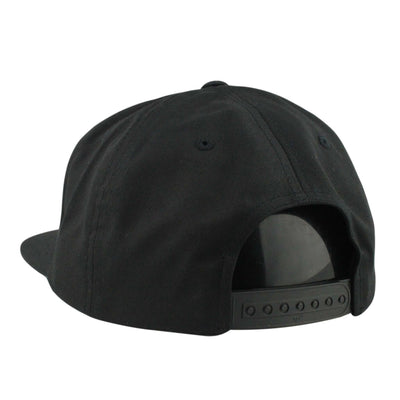 Comic Co. Comic Co. Green Mushroom Patch Black/Black Unstructured Snapback
