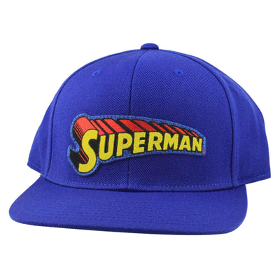Comic Co. Comic Co. Superman Logo Patch Blue/Blue Snapback