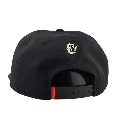 Crooks and Castles Crooks and Castles Censored Black/Black Unstructured Snapback