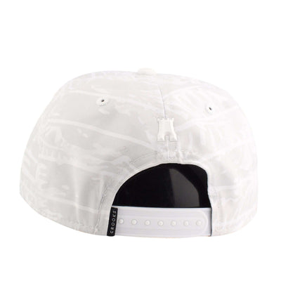 Crooks and Castles Crooks and Castles Chain Tiger White/White Snapback