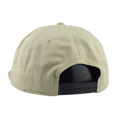 Crooks and Castles Crooks and Castles Cryptic Medusa Tan/Tan Unstructured Snapback
