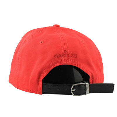 Crooks and Castles Crooks and Castles Serif Red/Red Strapback