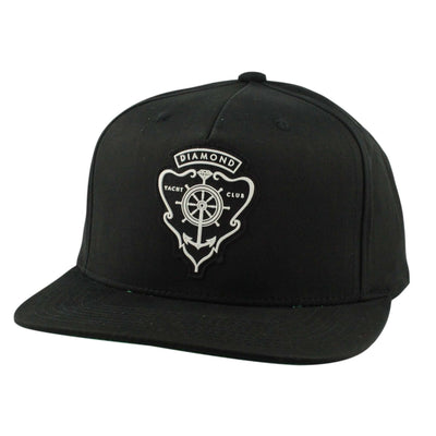 Diamond Supply Co. Diamond Supply Hamilton Black/Black Snapback