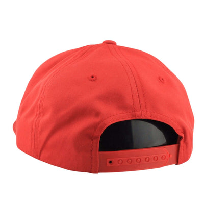 Flexfit Blank 5-Panel Unstructured Red/Red Snapback