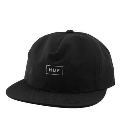HUF HUF Bar Logo 60/40 Black/Black Clipback