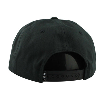 HUF Huf Mechanics Black/Black Unstructured Snapback