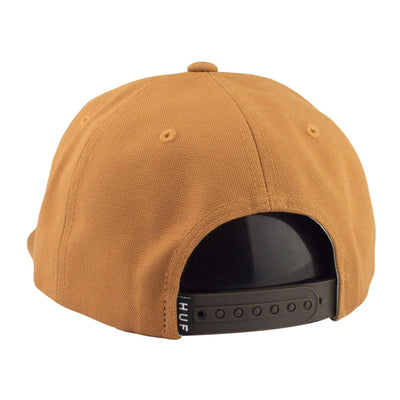 HUF HUF Token Brown/Brown Unstructured Snapback