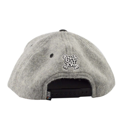 In4mation In4mation New Standard Wool Gray/Black Snapback