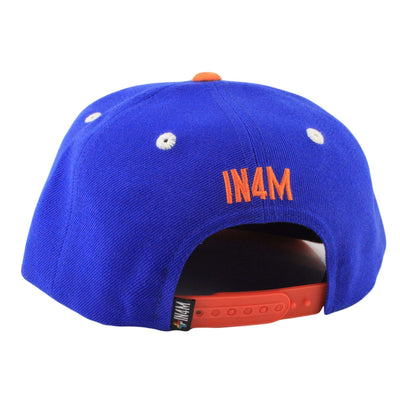 In4mation In4mation ny Script Blue/Blue Snapback
