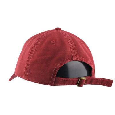 Matte Blac Matte Blac Dead Wrong Burgundy/Burgundy Slouch Strapback