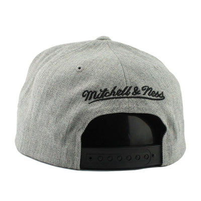 Mitchell and Ness Boston Bruins Tri Pop Special Script Gray/Gray Snapback