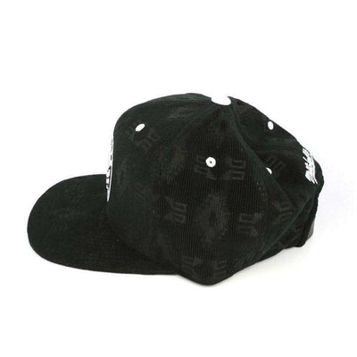 Mitchell and Ness Brooklyn Nets Debossed Black/Black Strapback