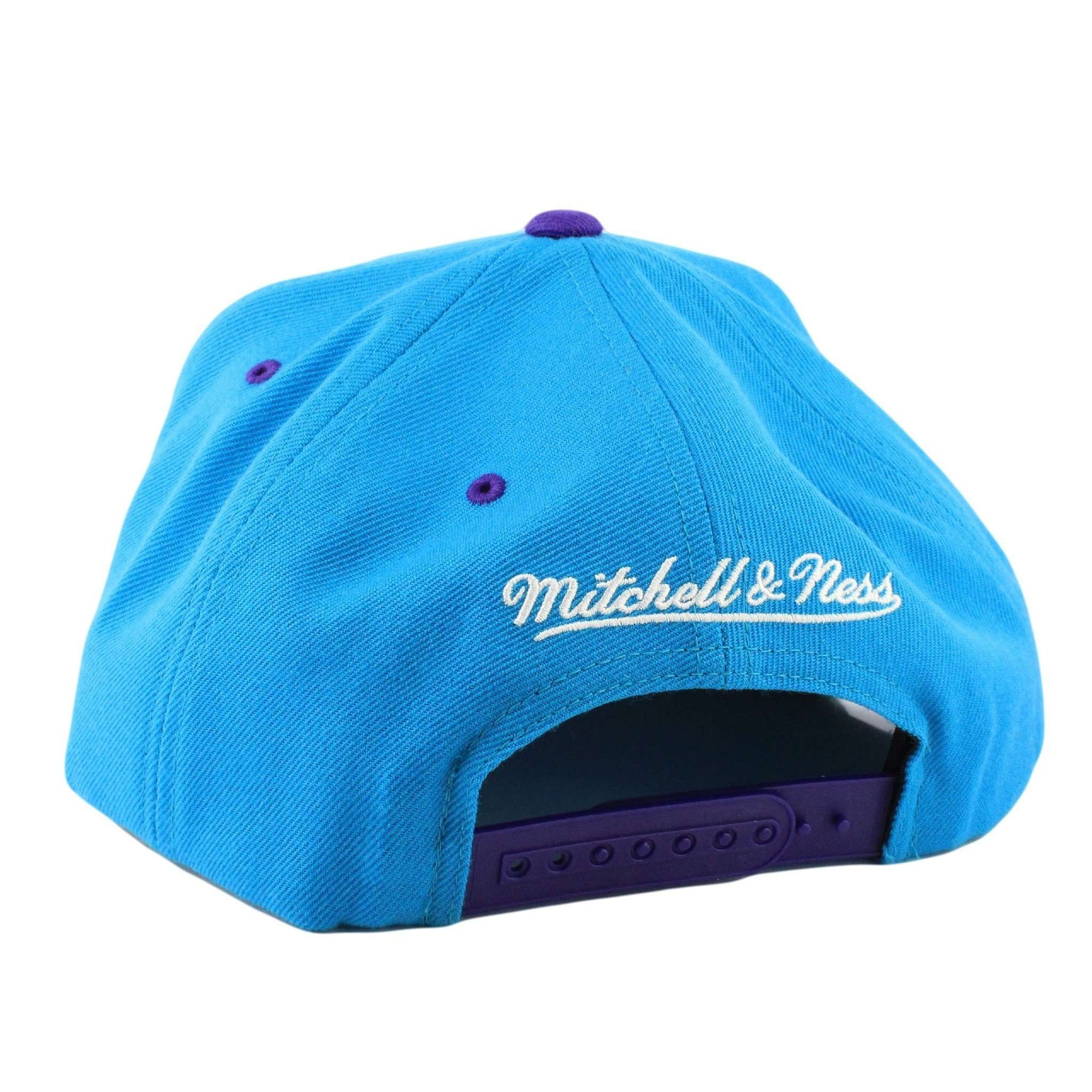 Mitchell and Ness Charlotte Hornets Grand Arch Blue Purple Snapback ffa2c0aeceb