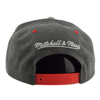 Mitchell and Ness Chicago Blackhawks Cation Perforated Gray/Gray Snapback